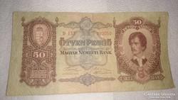 Régi magyar 50 pengő