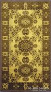 0K151 Retro barna szőnyeg 90 x 165 cm