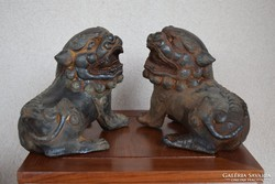Kínai Fo kutya (oroszlán) pár.