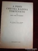 JUDAIKA Endrei Simon H A pesti chevra kadisa története 1928