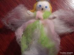 Nemez- gyapjú angyal