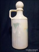 Gyöngyház mázas dugós palack , kiöntő