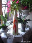 Zsolnay piros alakos váza  Török János terve