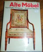 Alte Möbel - régi bútorok - német nyelvű könyv