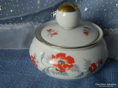 Antik Thomas porcelán, cukortartó