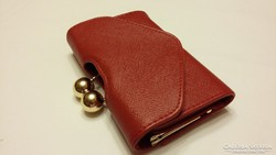 Gyönyörű tűz piros pénztárca