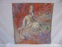 Hajósy Mónika festmény