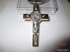 Szent Benedek kereszt medál