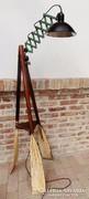 Egyedi Design Állólámpa régi evezőből.ipari géplámpával Loft