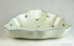 0K575 Antik óherendi porcelán kínáló tál