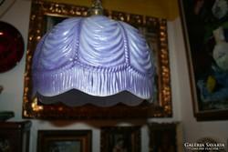 Mennyezeti lámpa - lila búrával