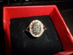 Ezüst gyűrű / markazit
