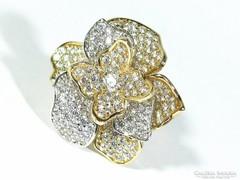 Arany virágos gyűrű (K-Au63944)