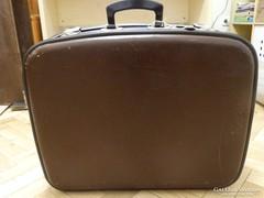 Retro bőrönd, soha nem volt használatban!