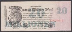 1923. 20 millió Reichsmark.