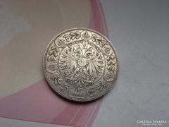1900 ezüst 5 korona 24 gramm 0,900 szép darab