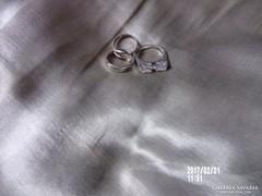 3 ezüst gyűrű