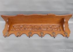 Neobarokk chippendale stílusú előszoba fogas b