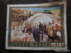 2 postatiszta bélyeg Mária kutja Nazaretben