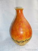 Szignált retro kerámia váza