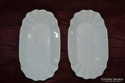 2 db porcelán tányérka ( DBZ 0067 )