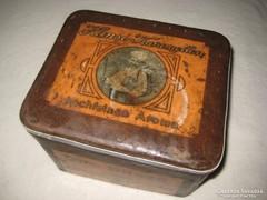 Antik lemez doboz  német a 20évekből