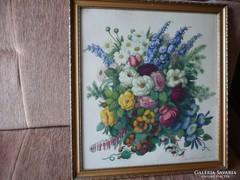 Oppel Magda - Virágcsendélet
