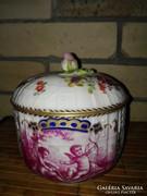Volkstedt porcelán bonbonier