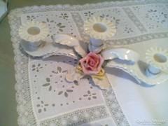 Szépséges Ens porcelán gyertyatartó