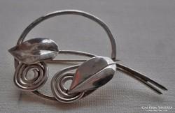Csodás régi  ezüst   bross