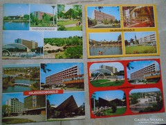 D146768 Hajdúszoboszló - 4 db. képeslap