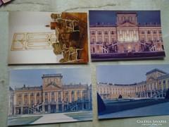 D146772 FERTŐD Esterházy kastély 4 db. képeslap MTI foto