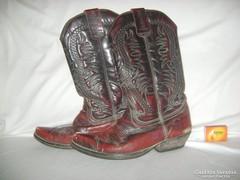 """Férfi western csizma - valódi bőr -"""" El Alamo """""""