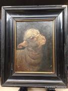Pállik Béla festmény