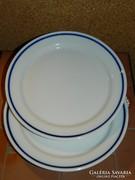 Zsolnay süteményes tányér 2 db.