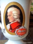 Mozart talpas bögre