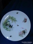 VIKTÓRIA márkajelű Nagyméretű porcelán fali tányér