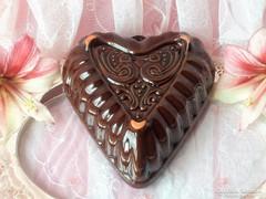 Míves kerámia kalács ,süteménysütő  forma II.