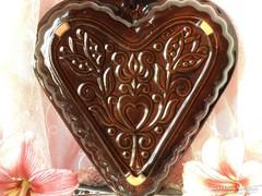 Míves kerámia kalács ,süteménysütő  forma III.