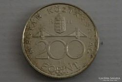 0L464 Ezüst 200 Forint 1994