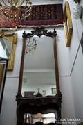 Bécsi barokk tükör konzolasztallal