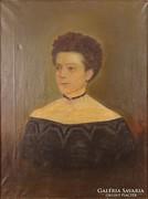 0A085 Jelzés nélkül : Antik női portré
