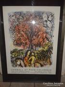 Chagall at Pace,  kiállítási plakát