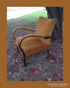 Kecses formájú,antik art deco fotel