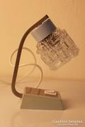 Retro asztali lámpa, éjjeliszekrény lámpa