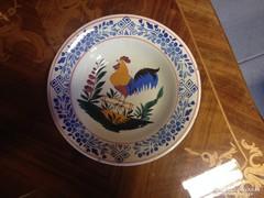 Apátfalvi kakasos tányér eladó