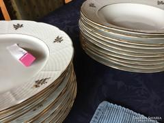 10-10 antik porcelán tányér, TK Thun, cseh