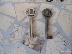 Régi Antik kulcs 2 db