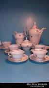 Thun Cseh kávés porcelán készlet