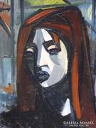 Ezüst György : Lány 1966